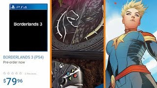 Walmart Leaked E3 Lineups? + Black Panther Xbox One X + Annette Bening Joins Captain Marvel!