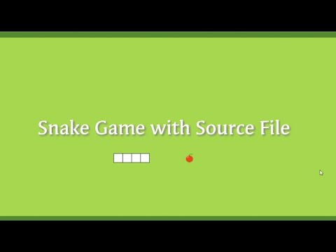Coding Snake Game In JavaScript    How To Make A Games    Games    The Snake Game    Game Download