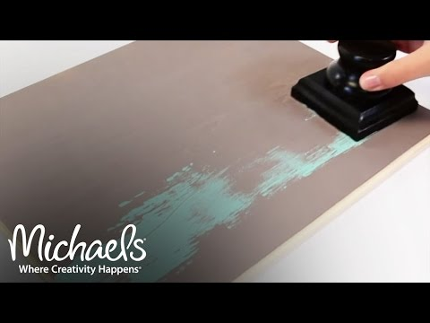 ArtMinds: Explore DIY Distressing | What's New | Michaels