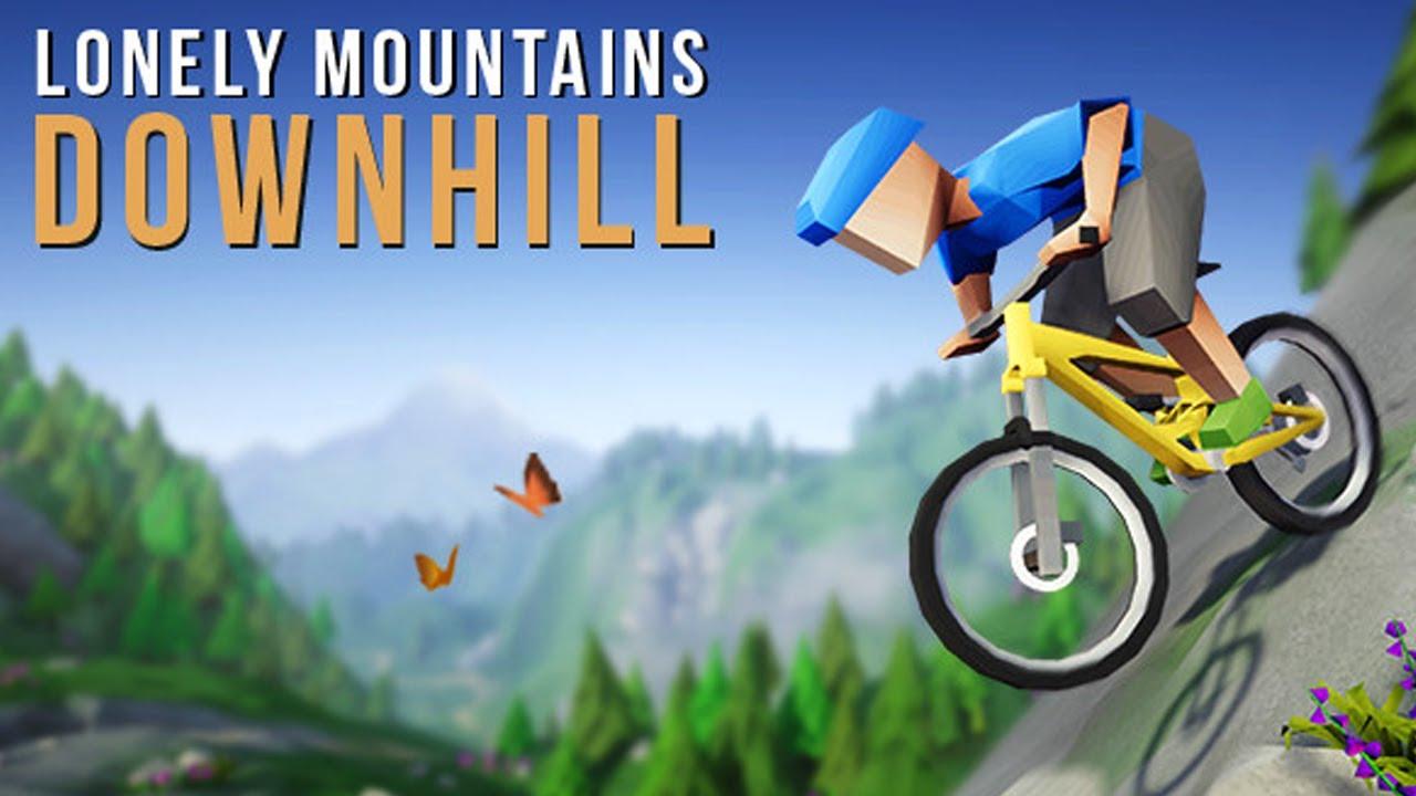 """Ein """"Rennen"""" gegen @Blizzor ⛰️ Lonely Mountains: Downhill"""