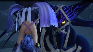 Скачать Kingdom Hearts 3 PS4 Aqua Falls To Darkness Aqua V S Ansem SOD HD 720p 60fps
