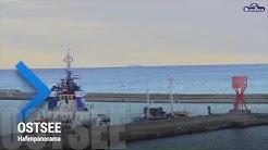 Sneak Preview Webcam von Rügenfisch AG in Sassnitz auf Rügen mit Ostseeblick und Hafenflair