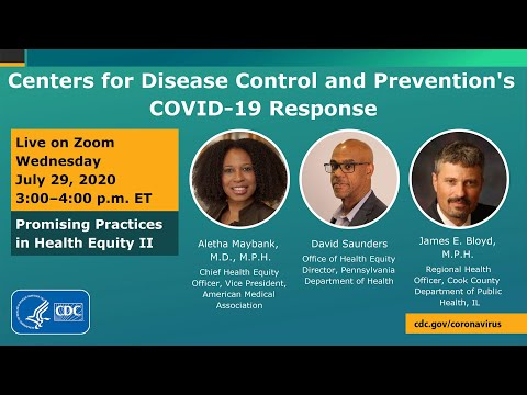 CDC COVID-19 Response Promising Practices In Health Equity II