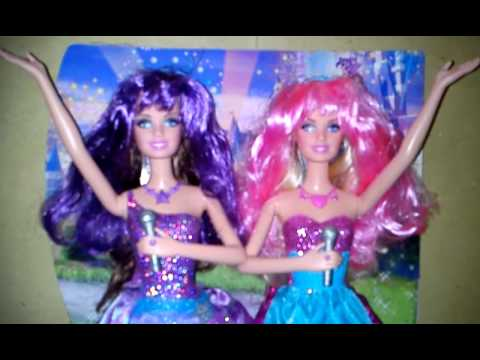 My Barbie The Princess & The Popstar Keira & Tori Singing In English