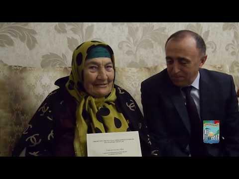 Вдове участника ВОВ М. Аслудинова вручен сертификат на жилье (г.Кизилюрт, апрель 2019 года)