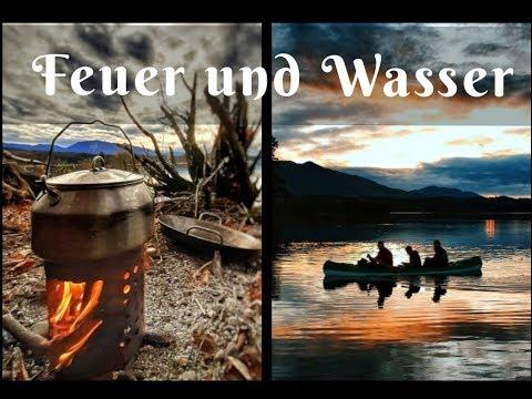 Feuer und Wasser | Kanadiertour und Bushcraftlager