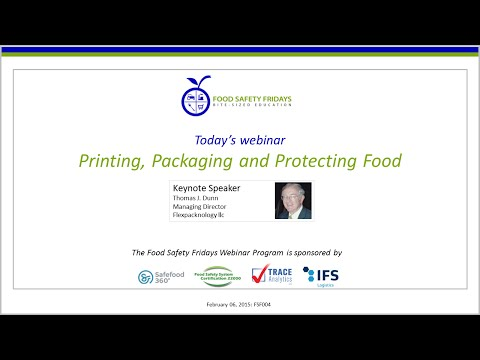 Printing, Packaging and Protecting Food