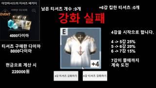 [리니지2M] 아인하사드 티셔츠 가상강화