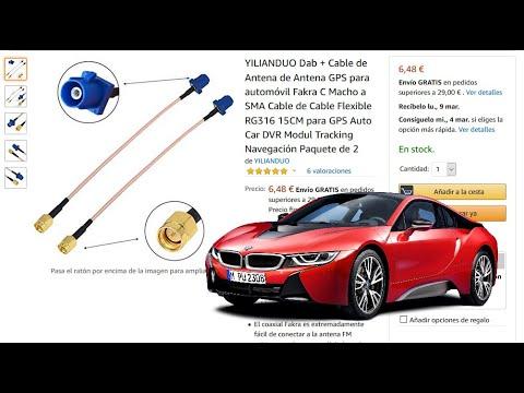 Antena GPS FAKRA para coche auto navegación