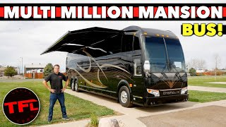 2021 Prevost Emerald RV: Let's Tour the Most Luxurious and Expensive Motor Home on the Road!