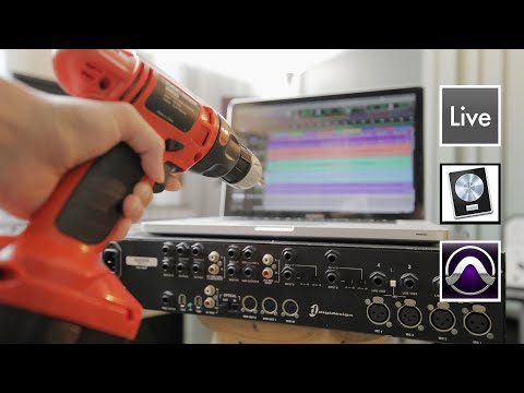 How to set up your Audio Interface and record audio with Pro Tools, Logic Pro X & Ableton Live