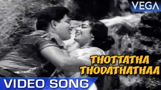 Thottatha Thodathathaa Video Song | Ninaivil Nindraval Movie Song | Old Video Song