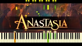 Once Upon A December Piano ANASTASIA