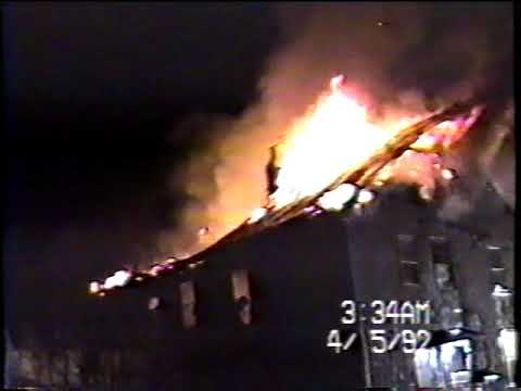 Preston Allen Rd, 4/5/92 House Fire