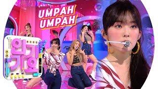 Download Mp3 Red Velvet 레드벨벳  - Umpah Umpah 음파음파  @인기가요 Inkigayo 20190825
