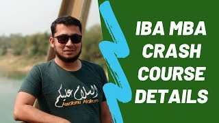 IBA MBA CRASH COURSE DETAILS