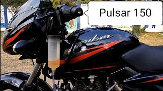 Pulsar 150 BS4 AHO Mileage test 2018