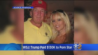 Report: Trump Lawyer Paid Porn Star $130,000 To Remain Silent About Their Relationship
