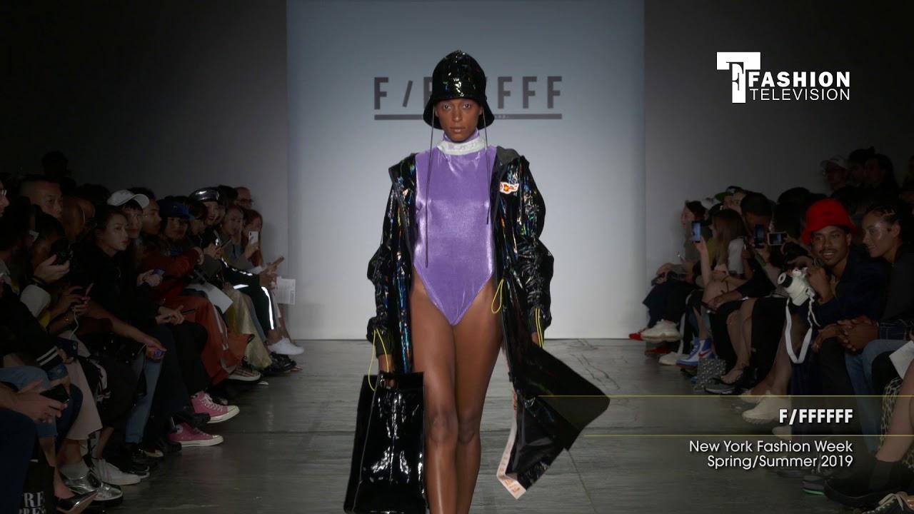 04e14e35bb1ca FF FFFFFF New York Fashion Week Spring/Summer 2019 - YouTube