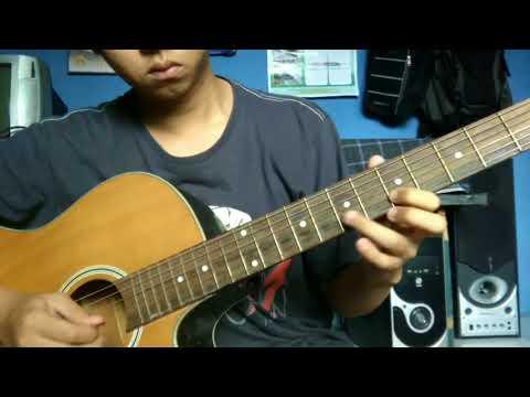 Tutorial melodi gitar dekat di hati - RAN
