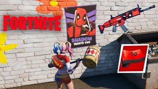 Fortnite Deadpool Week 6 Challenges - Unlock Deadpool Merc Weapons Wrap!