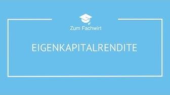 Eigenkapitalrentabilität / Eigenkapitalrendite