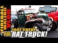 1942 CHEVY RAT ROD PICKUP TRUCK - FIREBALL MALIBU VLOG 705