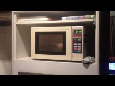 A DIY Microwave Hack Downloads Cooking Instructions From Barcodes