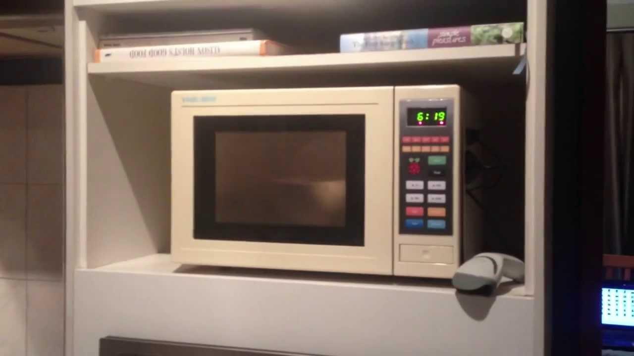 Raspberry Pi Microwave