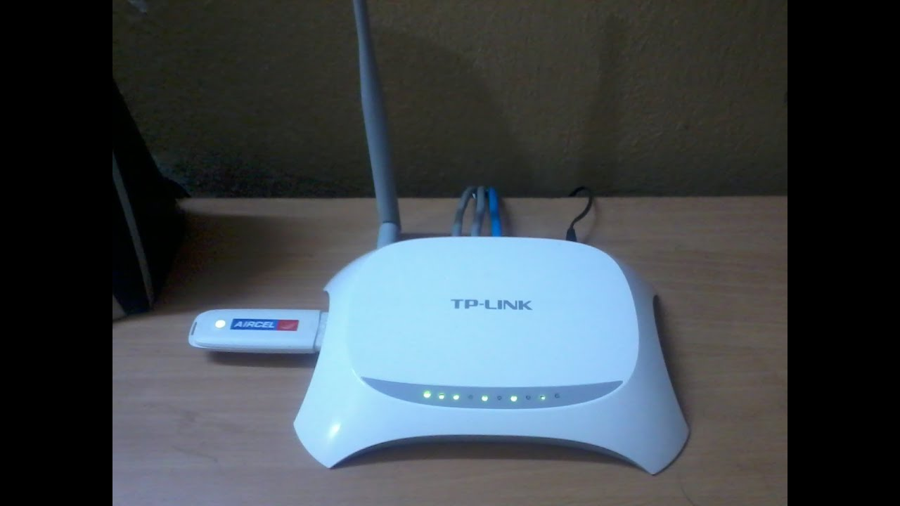 TP-Link TL-MR3220 v2 Router Windows 7 64-BIT