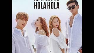 KARD - Hola Hola (MP3 Audio) [KARD 1st Mini Album `Hola Hola`]