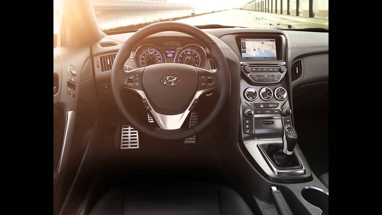 2016 Hyundai Genesis Coupe Interior Youtube