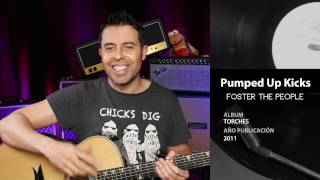 Cómo tocar Pumped Up Kicks en guitarra | Guitarraviva