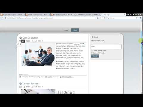 Come inserire una slideshow in una pagina html