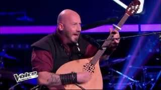 The Voice Season 2 (2013 France) - Luc Arbogast, Cancion Sefaradi - Translation in description
