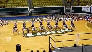 Home Pom at UCA Cheer Camp 2014 - Central High Varsity