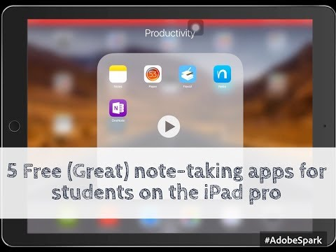 Top 5 free note-taking apps for your iPad pro| Paperless Student