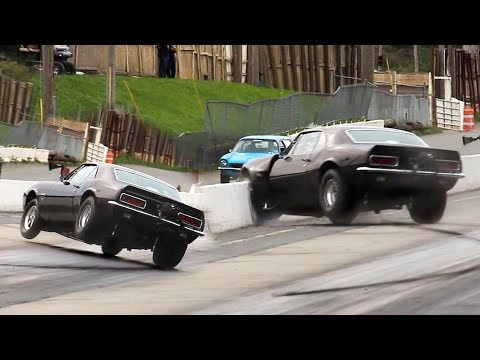 Camaro Hits The wall @ Lebanon Valley 9/22