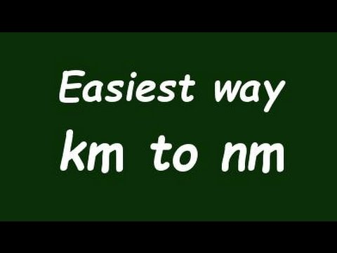 Convert Kilometer to nanometer (Km to nm) - Example and Formula