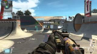 Gameplay Call of Duty Black Ops 2 Capturar la Bandera PC HD