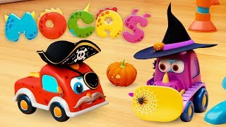 New Mocas Cartoon! Little Monster Cars for Kids - Halloween Cartoons & Mini Cars Cartoons