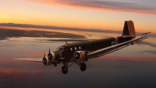 Основной военно-транспортный самолет Ju 52