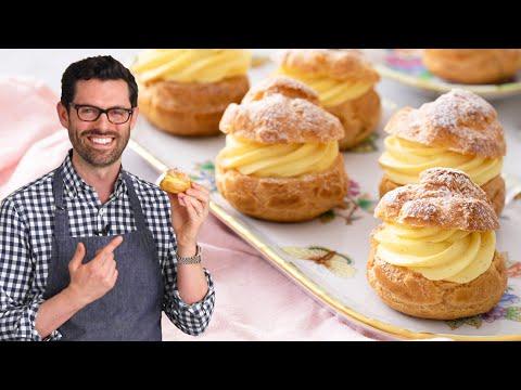 Cream Puffs - Preppy Kitchen