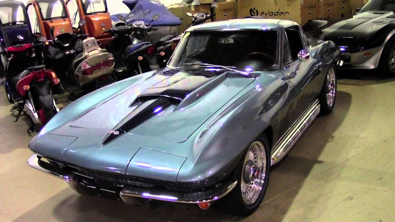 1967 Corvette Zz454 Restomod Youtube