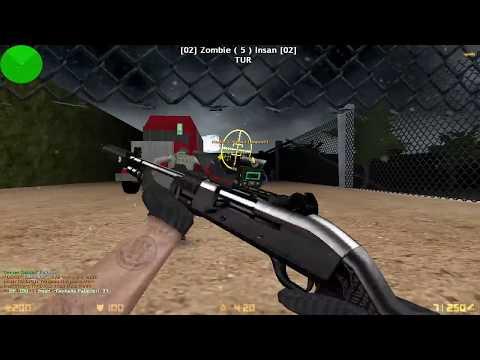 Counter Strike 1 6: Zombie Escape - Jurassic Park V2 | World War'Z