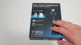 Unboxing Of PS4 Turtle Beach Headset Upgrade Kit | Use Xbox 360 & PS3 Headset On PS4!