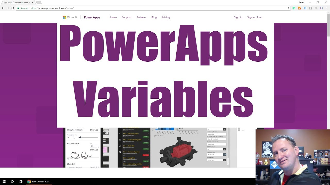Introduction to Power Apps Variables