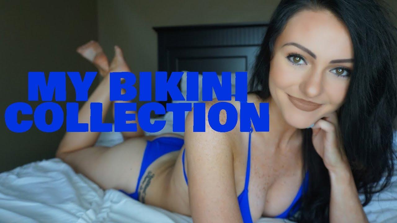 Bikini Try On Haul   ft. Courtney Taylor   My Bikini Collection