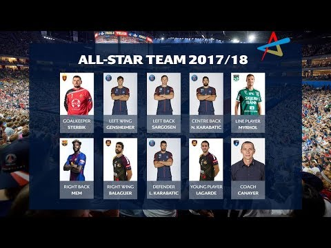 All-star Team | VELUX EHF Champions League 2017/18