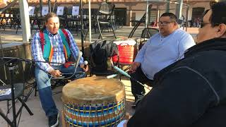 Indigenous Peoples Day Celebration 2017 - Morning Drum Song - Western Mavericks | Drum Group Clip 3